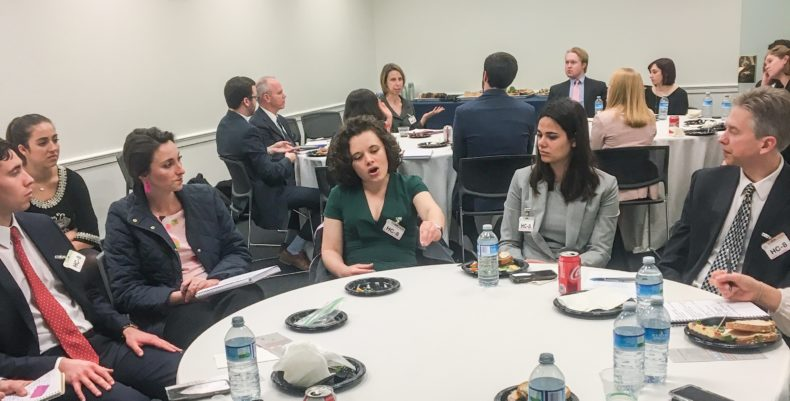 Two roundtable discussions