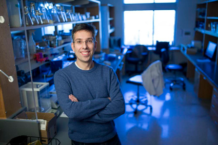 Antonis Rokas, Cornelius Vanderbilt Chair in Biological Sciences (John Russell/Vanderbilt University)