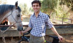 Caleb Feiring, BA'15: Pedaling tales of the American farm