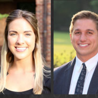 Danielle Kitchen and Jerom Theunissen, winners of the 2018 Michael B. Keegan Traveling Fellowship