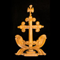 The St. Thomas Cross is a symbol of the shared heritage among the many Syriac denominations in India. (Vanderbilt University)