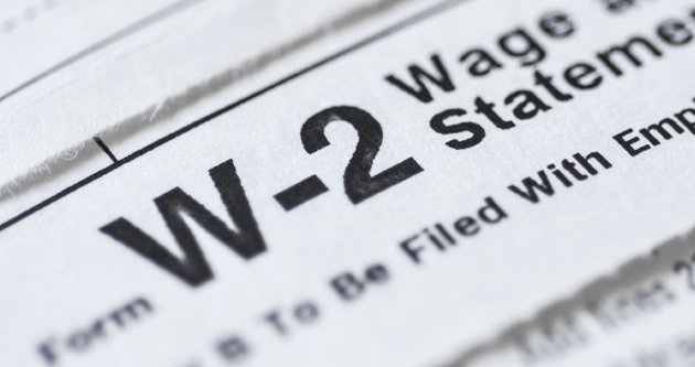 Review your personal information in preparation of W-2s
