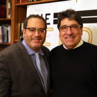 Michael Eric Dyson and Chancellor Nicholas S. Zeppos (Vanderbilt University)