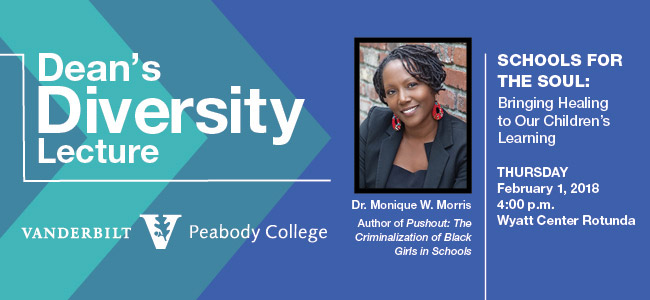 Dean's Diversity Lecture: Monique Morris