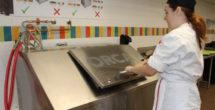 Vanderbilt Dining has recently installed an Organic Refuse Conversion Alternative machine at Rand Dining Center. (Vanderbilt University)
