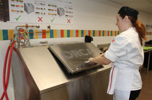 Vanderbilt Dining has recently installed an Organic Refuse Conversion Alternative machine at Rand Dining Center. (Vanderbilt University)
