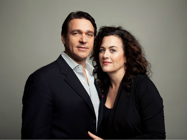 Nathan and Julie Gunn will open the Blair spring concert series Jan. 16. (image courtesy of M. Sharkey Photography)