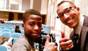 Film seminar on campus over Winter Break to engage teenage boys of color