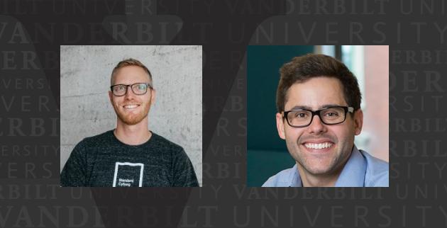 """Garrett Speigel and Drew Silverstein, Vanderbilt alumni named to Forbes' """"30 Under 30"""" for 2018."""