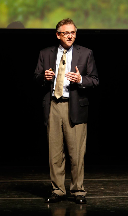 John Lutz, vice chancellor for information technology (Steve Green/Vanderbilt)