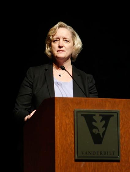 Susan R. Wente, provost and vice chancellor for academic affairs (Steve Green/Vanderbilt)