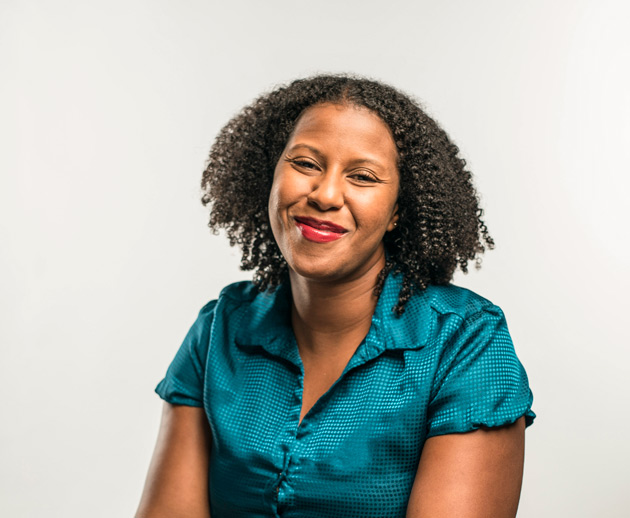 Rena Robinson, associate professor of chemistry (Daniel Dubois/Vanderbilt)