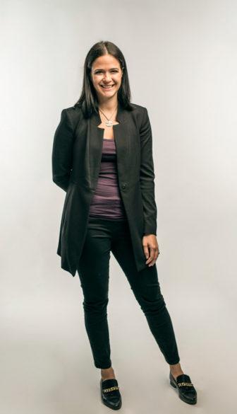 Erin Calipari, assistant professor of pharmacology (Daniel Dubois/Vanderbilt)