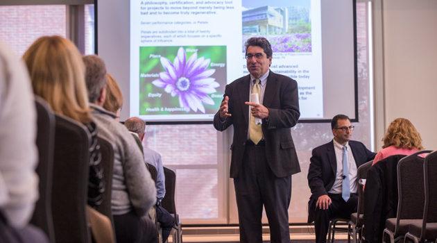 Zeppos engages campus community about FutureVU core values, next steps
