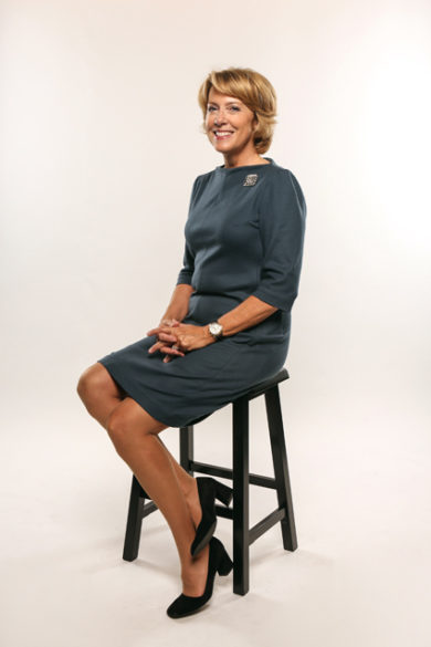 Mariann Piano, professor of nursing and senior associate dean for research (Anne Rayner/Vanderbilt)