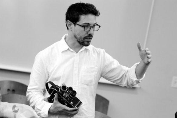 Jonathan Rattner, assistant professor of cinema and media arts