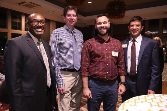 VLA 2017 cohort members (l-r) William H. Robinson, David Sweatt, Jeremy Wilson and Jeff Johns. (Vanderbilt University)