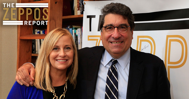 "Nashville Mayor Megan Barry was interviewed by Chancellor Nicholas S. Zeppos for ""The Zeppos Report"" podcast. (Vanderbilt University)"