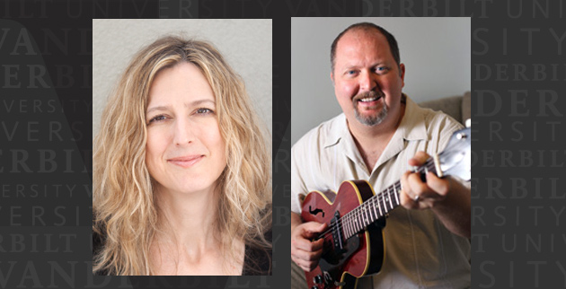 Deanna Walker and Odie Blackmon teach songwriting at the Blair School of Music. (Vanderbilt University)