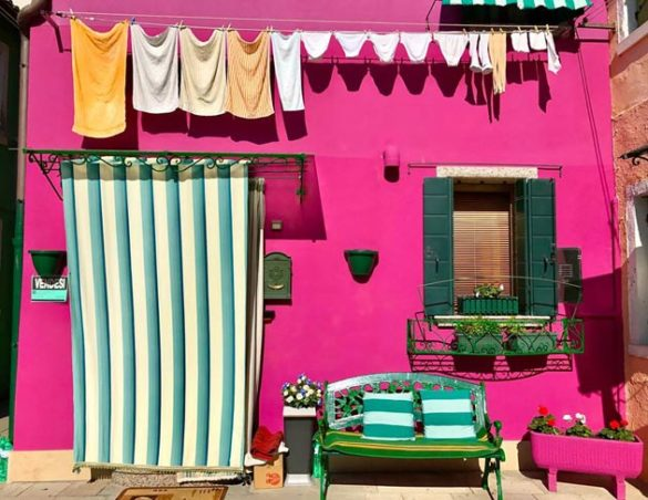 """""""Life in Burano, Italy - 'Neat Freak' Paradise"""" by Grace Carter"""
