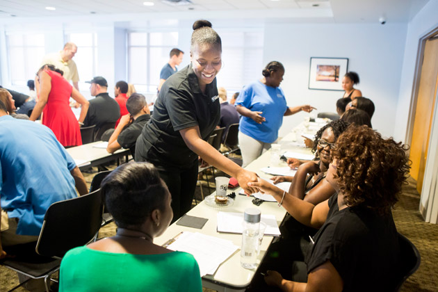 New Staff Orientation plays a key role in onboarding new staff and welcoming them to the Vanderbilt community.