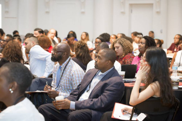 The R.A.C.E. Mentoring conference was held at the Wyatt Center at Vanderbilt's Peabody College.