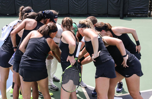 An historic season for Vanderbilt women's tennis came to a close May 22 as the third-ranked/fourth-seeded Commodores fell 4-2 to top-ranked/seeded Florida in the Final Four of the 2017 NCAA Women's Tennis Tournament. (Vanderbilt University)