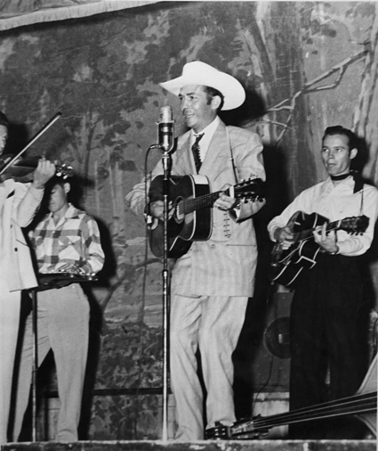 """From Ken Burns' """"Country Music"""" (2019). Hank Williams (public domain)"""