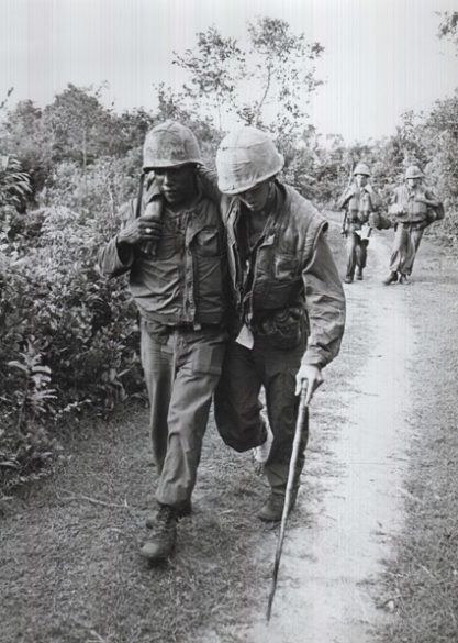 """From Ken Burns' """"The Vietnam War"""" (2017). Photo credit: National Archives and Records Administration"""