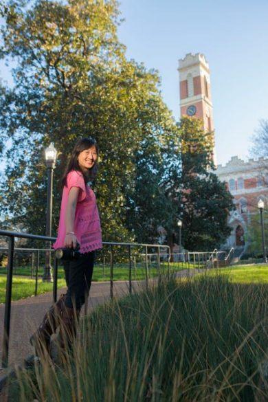 Cici Xuning Zhang (Anne Rayner/Vanderbilt)