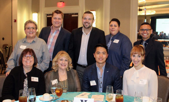 Top row, l-r: Linda Welch, Scotty Glasgow, Chris Purcell, Roberta Robison and Gilbert Gonzales. Bottom row, l-r: Deb Grant, Christie St. John, Johnny Lai and Kaitlin Parker. Not pictured: Dr. George Hill.
