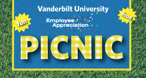 The annual Employee Appreciation Picnic is scheduled for May 16 on Library Lawn.