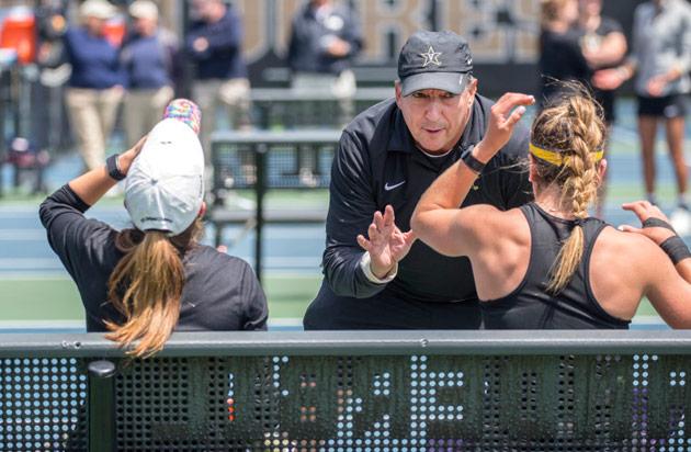 Women's tennis coach Geoff MacDonald (Vanderbilt University)