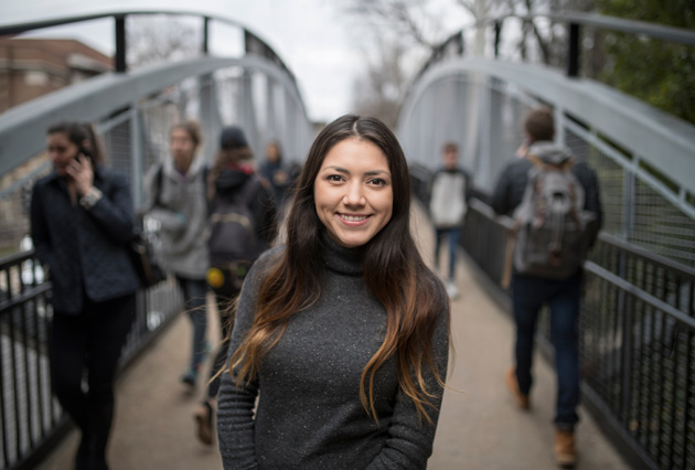 Paloma Mendoza is an Arnold Scholar. (John Russell/Vanderbilt)