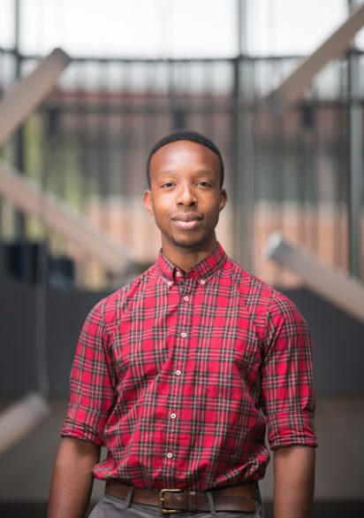 Michael Umenta is a Kinder Morgan Excellence in Engineering Scholar. (Susan Urmy/Vanderbilt)