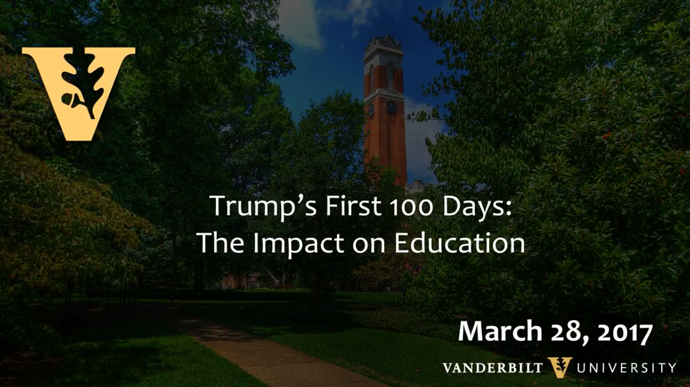 Trump's First 100 Days and the Impact on Education