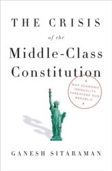 book cover: the crisis of the middle-class constitution