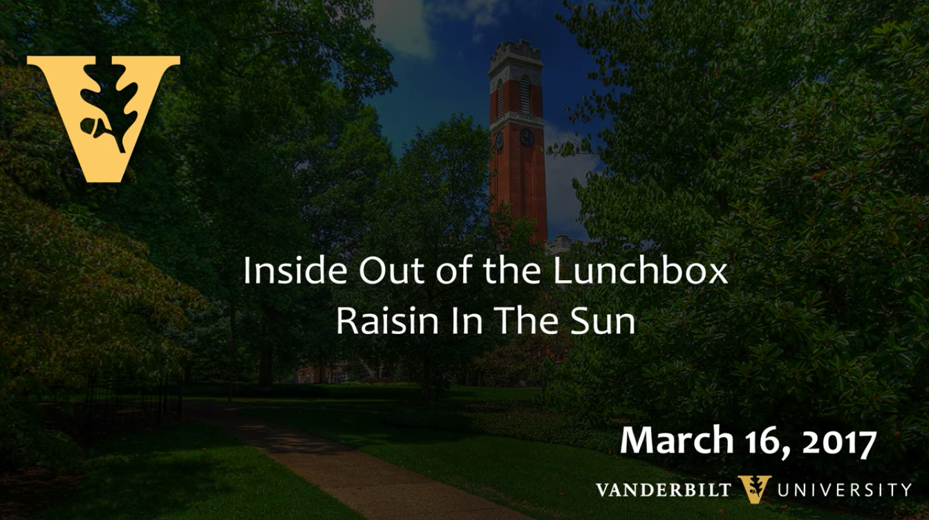 InsideOut of the Lunch Box: A Raisin in the Sun