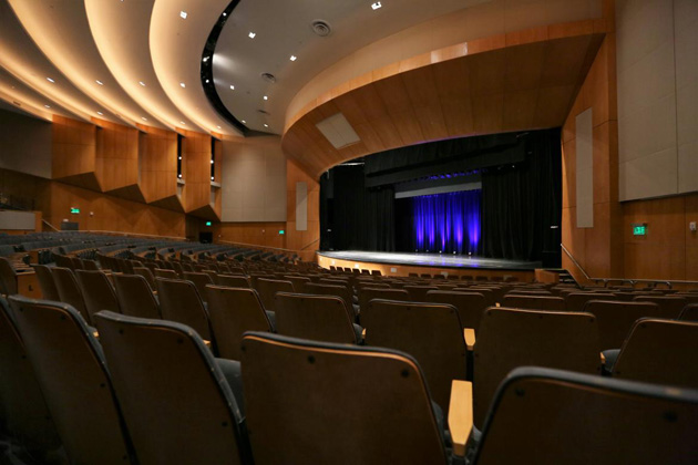 Langford Auditorium interior