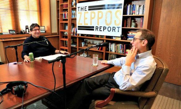"Chancellor Nicholas S. Zeppos interviews law professor Barry Friedman for ""The Zeppos Report."""
