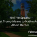 What Trump Means to Native America: Lecture by a Native American Lawyer and Activist