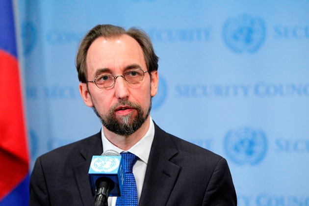 Zeid Ra'ad Al Hussein (courtesy of the United Nations)