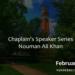 The Chaplain's Speaker Series: Nouman Ali Khan