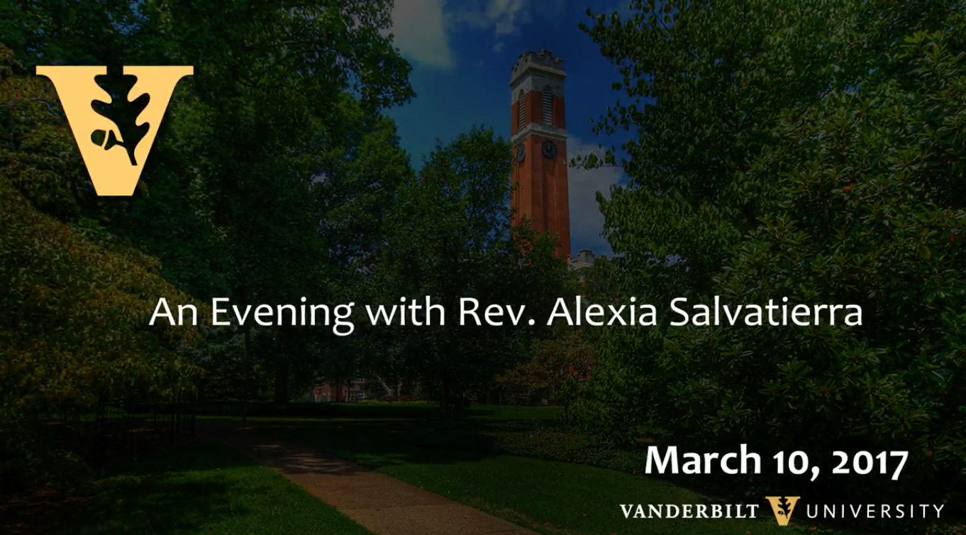 A Public Lecture and Conversation with Rev. Alexia Salvatierra