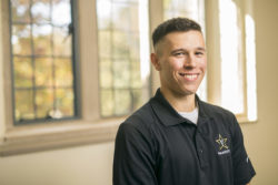 Christopher Huerta Opportunity Vanderbilt Students Shot for DAR. Student profile (Daniel Dubois / Copyright Vanderbilt University)