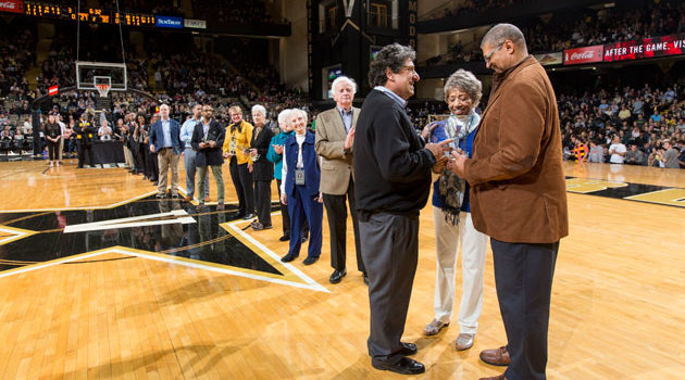 Vanderbilt athletics honors civil rights leaders during Equality Weekend