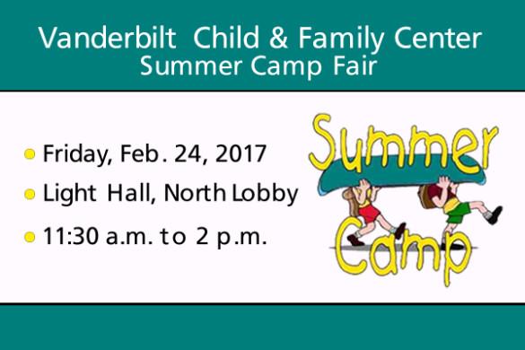 Summer Camp Fair 2017