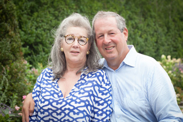 Diane and Robert M. Levy, BA'72