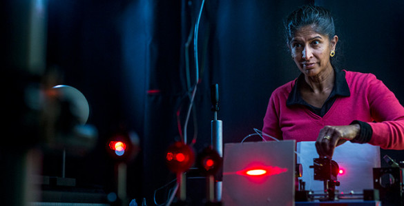jansen in her lab