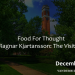 Food for Thought: Exploring Your World through Three Cultural Moments by Ragnar Kjartansson